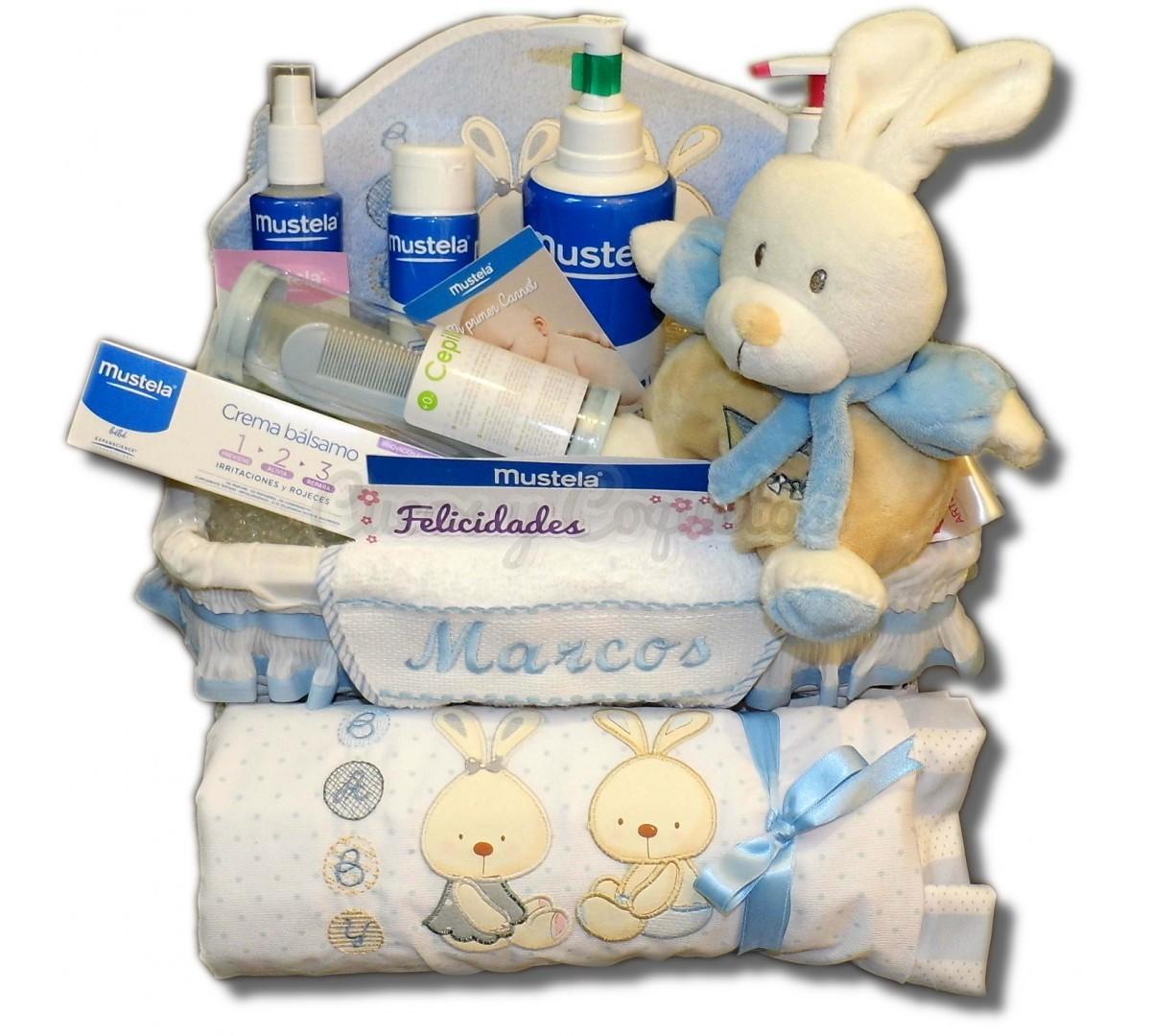 Baño Infantil Mustela:Canastilla Bebé Mustela