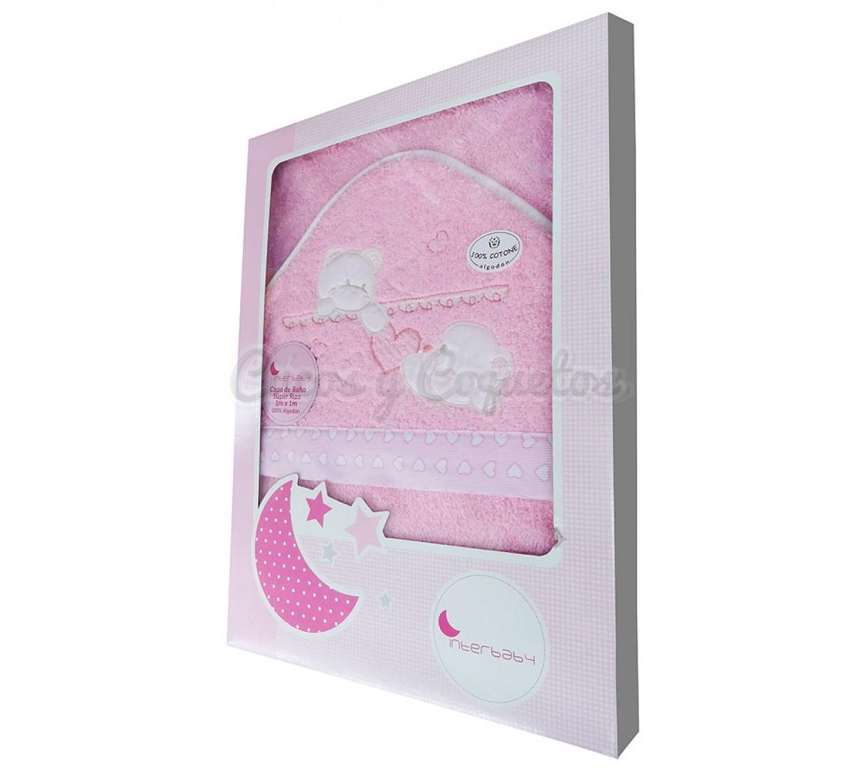 Capa ba o amor interbaby regalos para beb s canastillas - Capas de bano bebe personalizadas ...