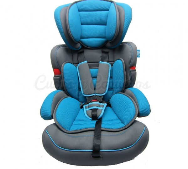 Silla auto travel azul