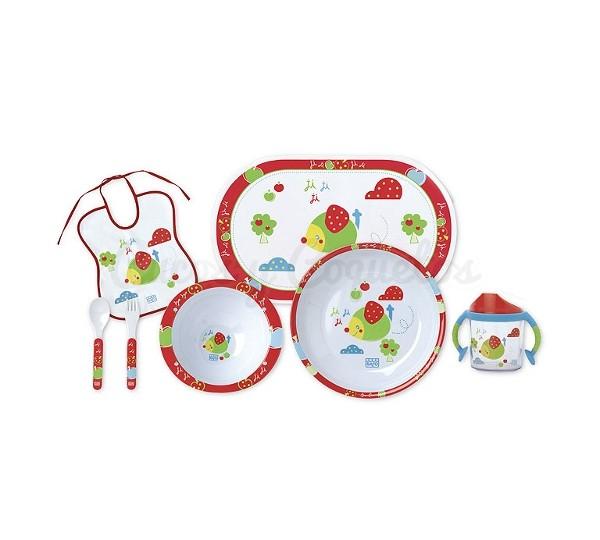 Regalos beb vajillas regalos para beb s canastillas for Vajillas bebe personalizadas