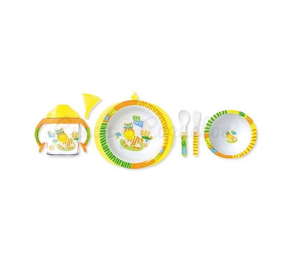 Regalos para beb s canastillas personalizadas cucos y for Vajillas bebe personalizadas