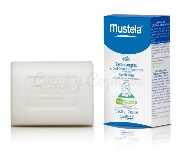 Baño Infantil Mustela:Mustela Cold Cream Jabon Pastilla 200gr